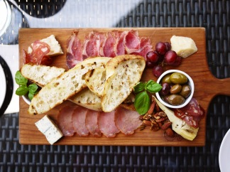 Two Sisters Vineyard Charcuterie Board